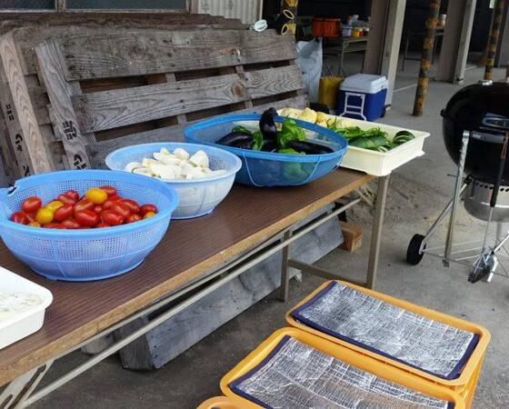 黒豆とジビエと地元野菜のBBQ