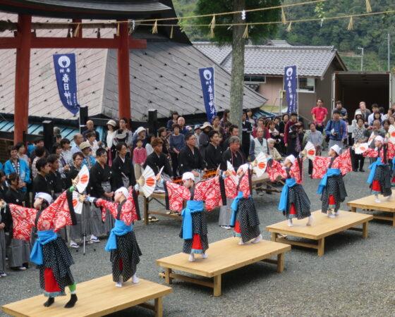祝851年春日神社秋祭り宵宮