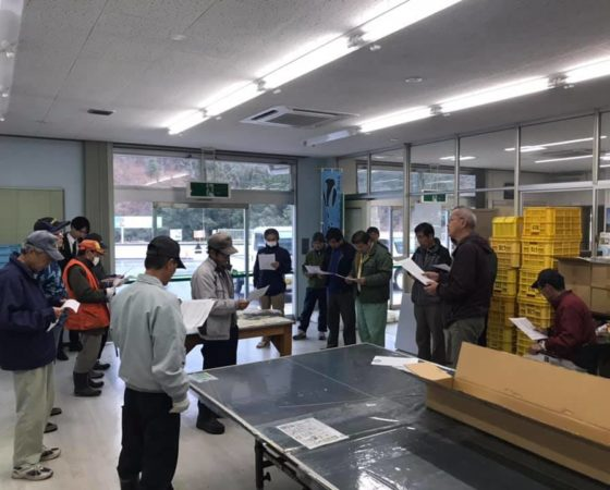 福知山市でサル対策支援