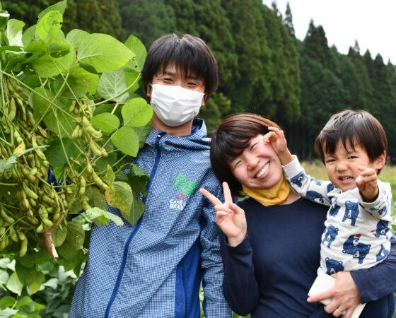 日本農業遺産!「丹波篠山の黒大豆栽培」
